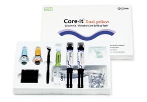 Набір Spident Core-it® Dual (Коре іт), Композитний матеріал подвійного твердіння