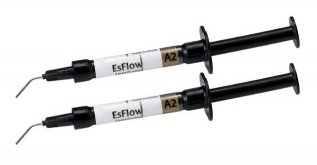 Світлозатверждучий наногибридний рідкий композит Spident EsFlow® (ІсФлоу), 2г — фото №5