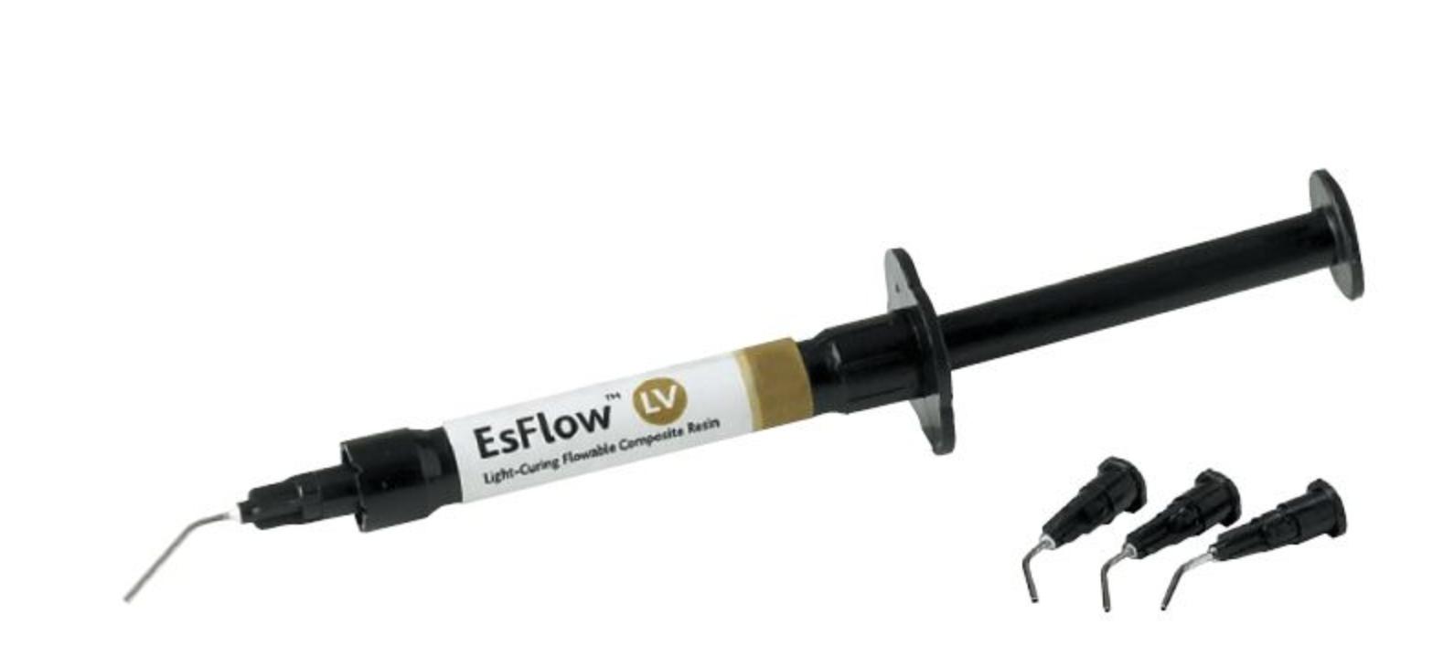Світлозатверждучий наногибридний рідкий композит Spident EsFlow® (ІсФлоу ЛВ) LV, 2г