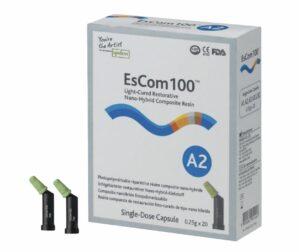 Наногібридний пломбувальний матеріал Spident EsCom®100 (Іс Ком 100), капсули